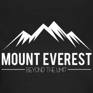 Mount Everest Beyond the Limit - Vrouwen T-shirt