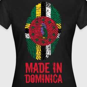Made In Dominica Caribien - Dame-T-shirt