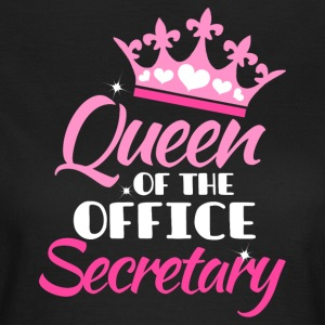 Queen of the office - Sekretær - T-skjorte for kvinner
