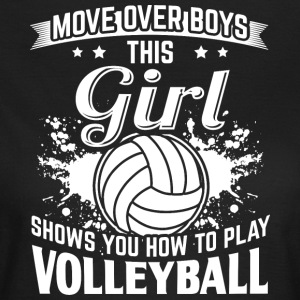 volleyball flytte over - Dame-T-shirt