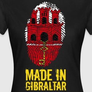 Made In Gibraltar - T-skjorte for kvinner