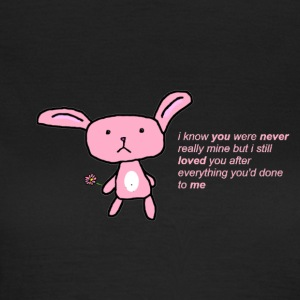 Sad bunny - Women's T-Shirt