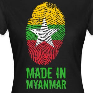 Made In Myanmar / Burma / Burma - Women's T-Shirt