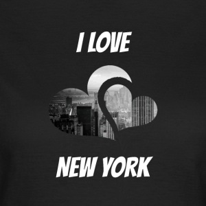 J'adore New York, I love NY - T-shirt Femme