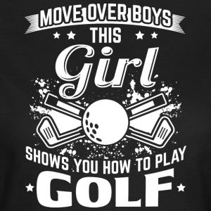 golf MOVE OVER pojkar - T-shirt dam