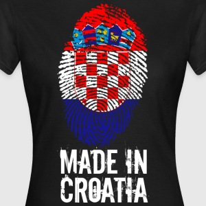 Made in Croatia / Gemacht in Kroatien Hrvatska - Frauen T-Shirt