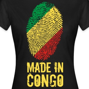 Made In Congo / Kongo - Frauen T-Shirt