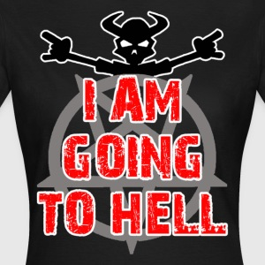 Going to hell - Slim fit - Dame-T-shirt
