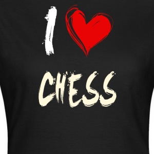 i love chess - Women's T-Shirt