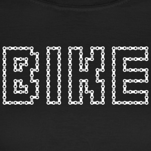 Bicycle chain bike white - Women's T-Shirt