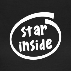 star inside (1801b) - Women's T-Shirt
