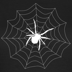 Spider on its web - Women's T-Shirt