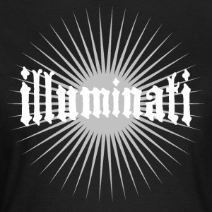 illuminati star fun writing secret swag rays 1 - Women's T-Shirt