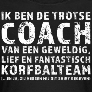 Stolt Coach Korfbalteam - T-shirt dam