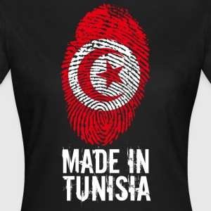 Made in Tunisia / Made in Tunisia تونس ⵜⵓⵏⴻⵙ - T-skjorte for kvinner