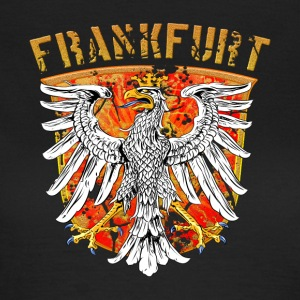 Francfort ville Wappenadler Design - Gold Edition - T-shirt Femme