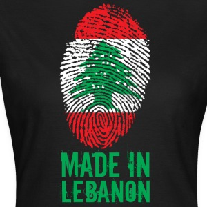 Made in Lebanon / Gemacht in Libanon اللبنانية - Frauen T-Shirt
