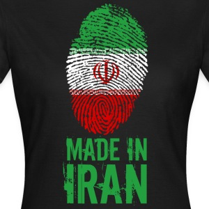 Made in Iran / Gemacht in Iran ايران Īrān Persien - Frauen T-Shirt