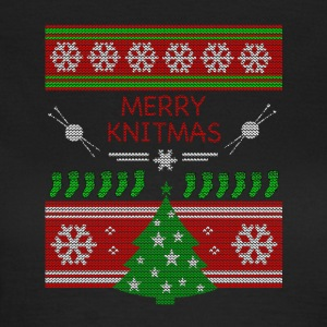 Merry Knitmas - Frauen T-Shirt