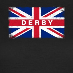 Derby Shirt Vintage United Kingdom Flag T-Shirt - T-shirt dam