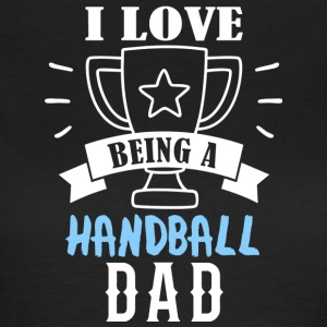 Handball dad - Frauen T-Shirt
