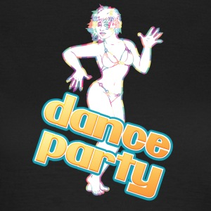 dance party med sexig tjej - T-shirt dam