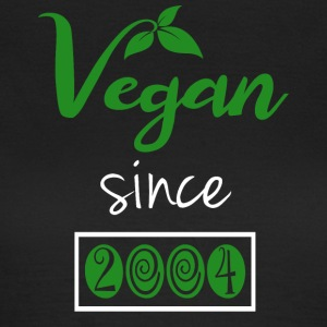 Vegan sedan 2004 - T-shirt dam