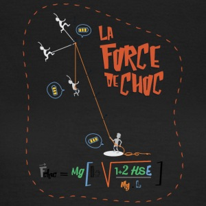 Climbing and physics: the impact force - Women's T-Shirt