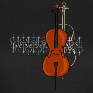 Cello Design 2 lyse - T-skjorte for kvinner