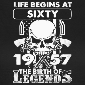 1957 The birth of Legends shirt - Women's T-Shirt