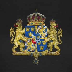 Swedish Coat of Arms Sweden Symbol - T-shirt dam