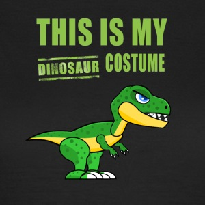 Dinosaur costume carnival disguise humor funny - Women's T-Shirt
