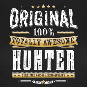Original 100% Awesome Hunter - Frauen T-Shirt