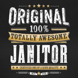 Original 100% Awesome Vaktmester - T-skjorte for kvinner