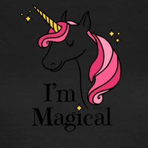 I'm Magical Unicorn T-shirt in White - Women's T-Shirt