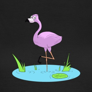 Pinker Flamingo - Frauen T-Shirt