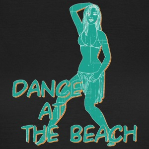 dance at the beach vintage - Women's T-Shirt