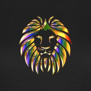 Colurful lion africa - T-shirt dam