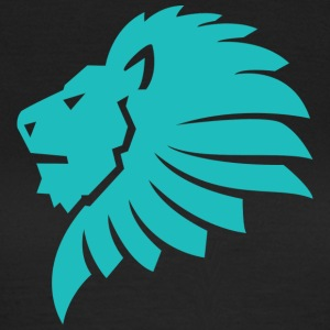 Lion blue - Women's T-Shirt