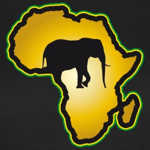 Elephant Safari Afrique Kenya Serengeti Roots Reggae - T-shirt Femme