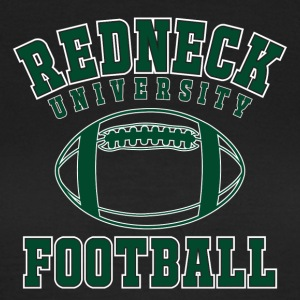 "Shirt ""Redneck University fotboll"" - T-shirt dam"