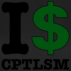 I $ capitalism - Women's T-Shirt