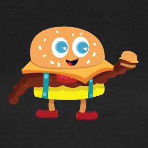 Cute Burger - Women's T-Shirt