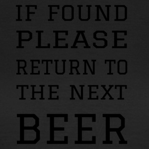Return to Beer - Women's T-Shirt