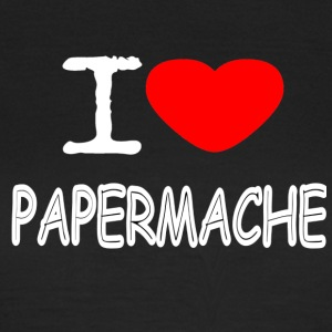 I LOVE PAPER MACHE - Women's T-Shirt