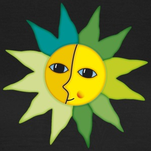 Sunrays Moon faces moment happiness - Women's T-Shirt