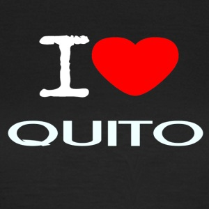 I LOVE QUITO - Dame-T-shirt