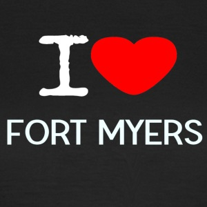 I LOVE FORT MYERS - Dame-T-shirt