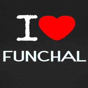 I LOVE FUNCHAL - Frauen T-Shirt