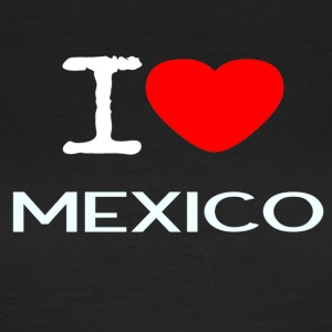I LOVE MEXICO - Dame-T-shirt